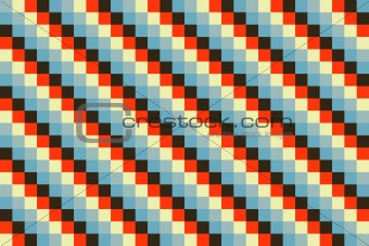 Abstract color seamless background, graphic pattern, retro style