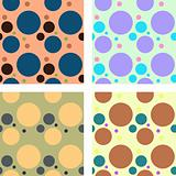 Vector retro background, pattern