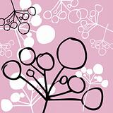 Background retro pink style, card, poster