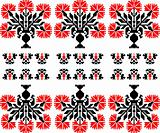Vector Fantasy Seamless russian traditional pattern, Embroidery,