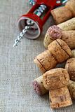 Corkscrews and corks