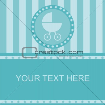 baby arrival frame