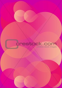Abstraction  pink background ,vector  illustration