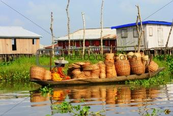 Ganvie Village, Benin