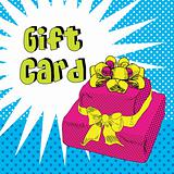Retro Popart Gift card