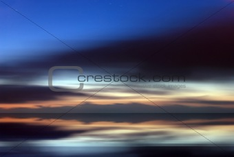 Abstract sky background