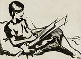 Boy-inspired drawing