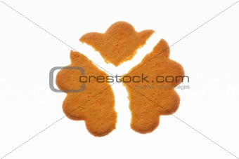 Three pieces cookie