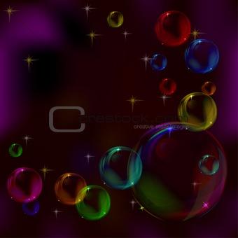 Background, bubbles