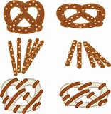 Hard pretzels set 1