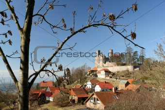 Castle Hanstein in Thuringia, Germany