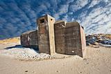 Bunker on a Danish beach