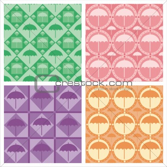 cute umbrella patterns