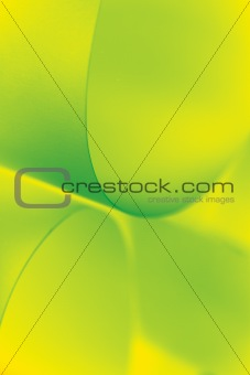 abstract image paper shapes yellow green