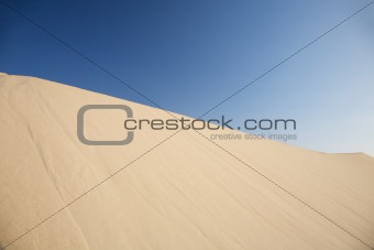 great sand dune at Cadiz
