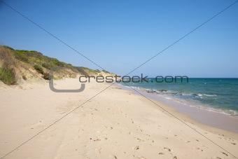 Punta Paloma sand beach