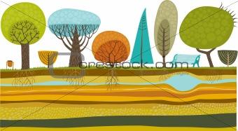 vector garden