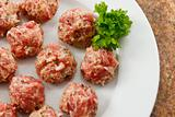 Meatballs Ready to Cook
