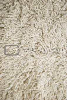 Mat made of wool