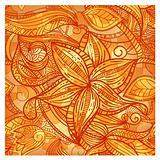 seamless puzzle floral vintage texture