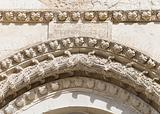 Detail of the Cathedral. Giovinazzo. Apulia.