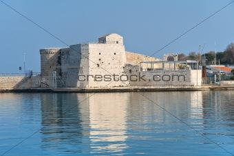 Fortress. Trani. Apulia.