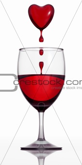 Blood wine.