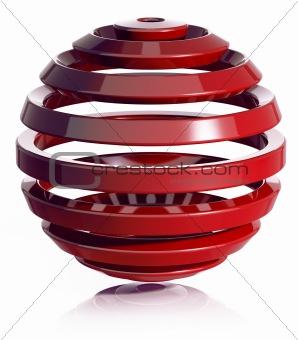 3d sphere.