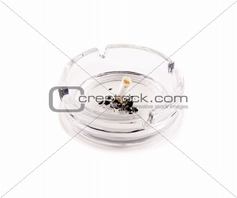 Ashtray Isolated on White