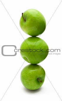 Apples stack