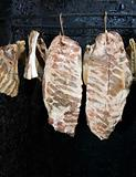 Drying meat