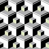 black abstract cubes
