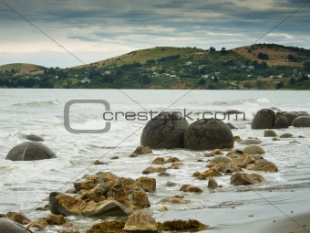 Moeraki Boulder East Coast of south New Zealand