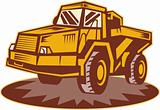 Mining dump truck
