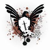 heraldic coat of arms t shirt 1