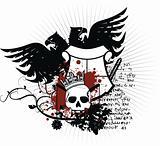 heraldic coat of arms t shirt 5