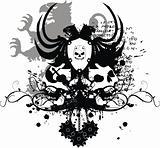 heraldic coat of arms t shirt 6