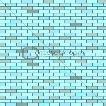 blue seamless bricks wall