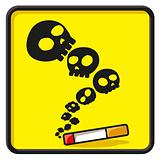 no smoking funny icon