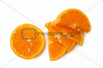 Sliced mandarin
