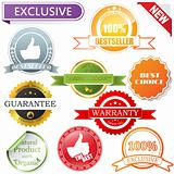 Vector labels set