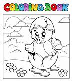 Coloring book with Easter theme 3