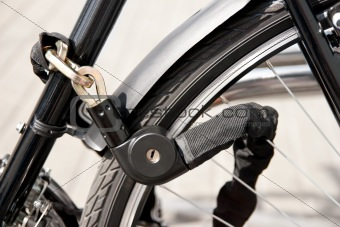locked bike