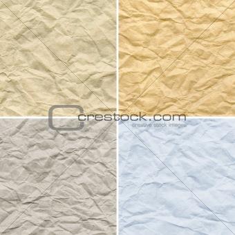 Creasy  paper