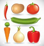 Mixed vegetables set 1