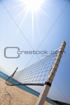 Beach Volleyball and sunlight