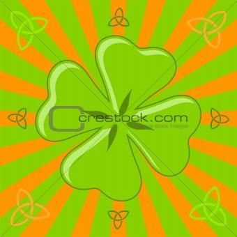 Four leaf shamrock
