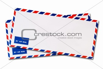 classic air mail envelope