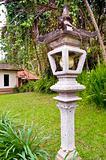 Indonesia park decoration