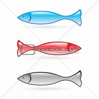 Abstract fish.